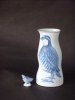 Partridge with partridge vase